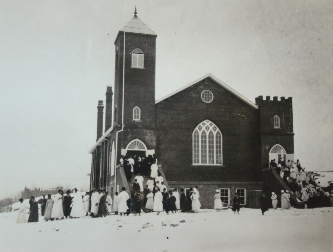 5. West Gate Church in the mid-1920s