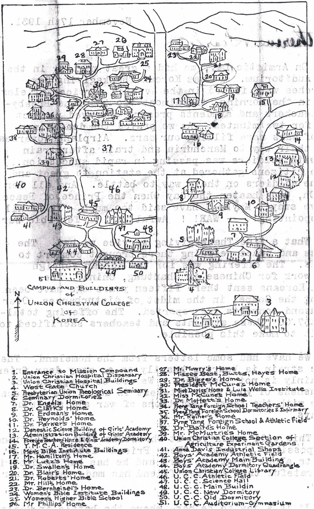 Union Christian College Map